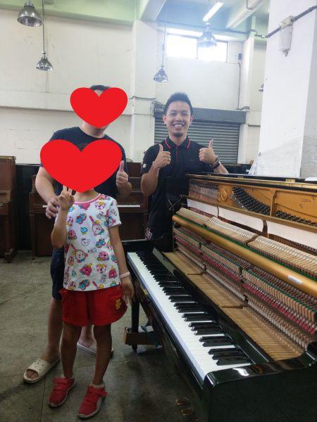 【感謝中壢林先生購買 Yamaha U1二手鋼琴】 【感謝台中邱小姐購買 Yamaha UT112二手鋼琴】 【感謝新竹陳先生購買 Yamaha U3二手鋼琴】
