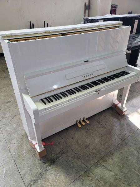 日本二號 YAMAHA U2 白色二手鋼琴 中古鋼琴 品質NO.1