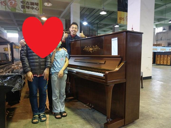 感謝連假四天5組願意給予小弟服務機會購買二手鋼琴的顧客!