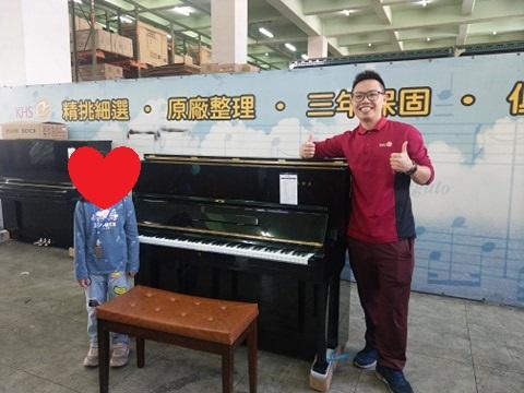 感謝本週五組願意與小弟購買中古鋼琴的顧客, 感謝,感恩,感激 !