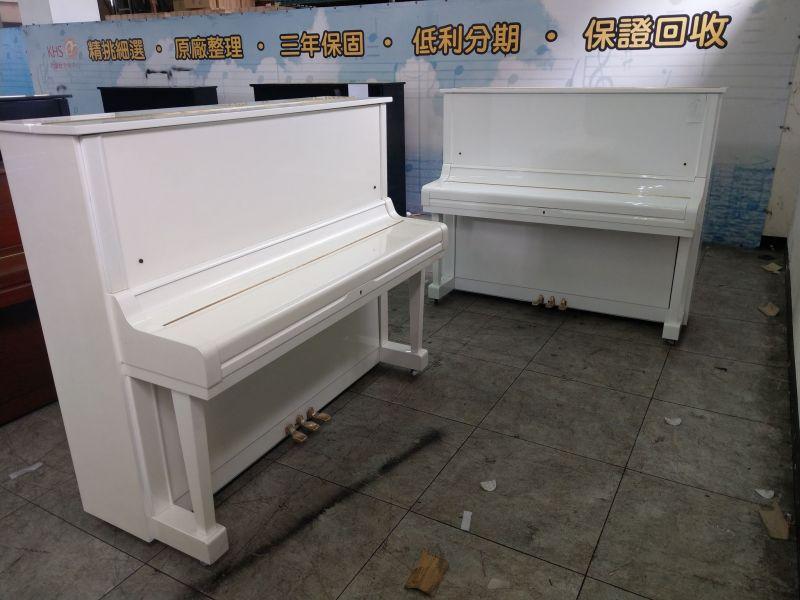 還在問有沒有白色鋼琴?白色二手鋼琴這不就來了嗎?錯過可惜!