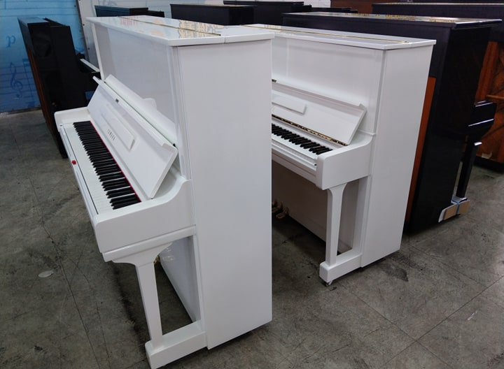 白色鋼琴 Yamaha U1 piano 0980494792 Mr.Huang
