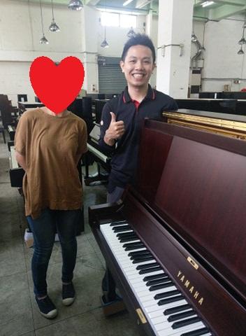 感謝母親節假期5組願意給予小弟服務機會,購買二手鋼琴的爸爸媽媽們
