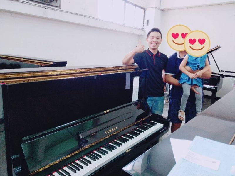 感恩謝老師願意來我們中古鋼琴倉庫借用場地舉辦成果發表會