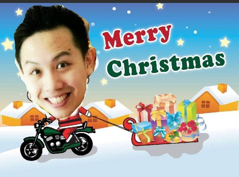 祝各位爸爸媽媽及老師們聖誕節快樂喔!