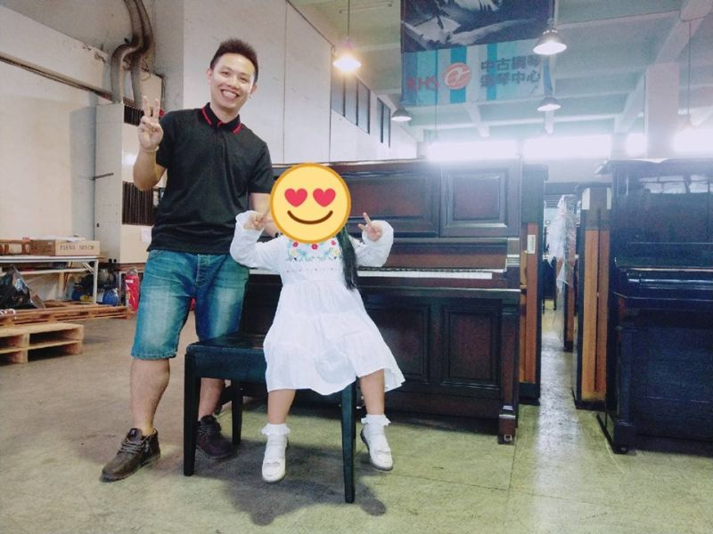 感謝近期8組購買二手鋼琴願意給予小弟服務的爸爸媽媽們