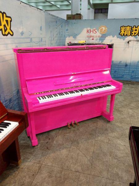 感謝台中的洪先生 沒到現場看琴 完全信任小弟的專業及商譽